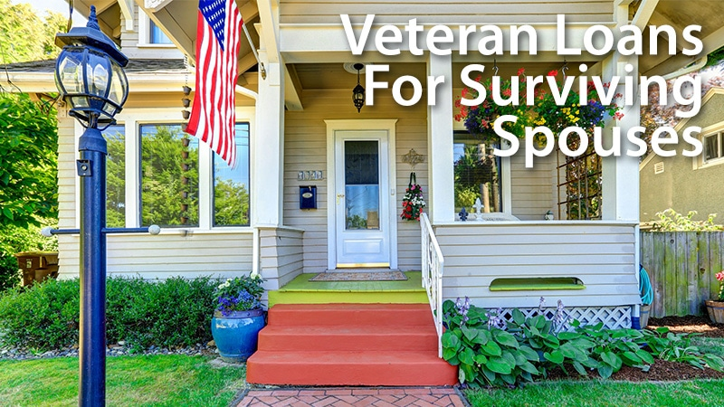 Home Loan Assistance For The Surviving Military Spouse