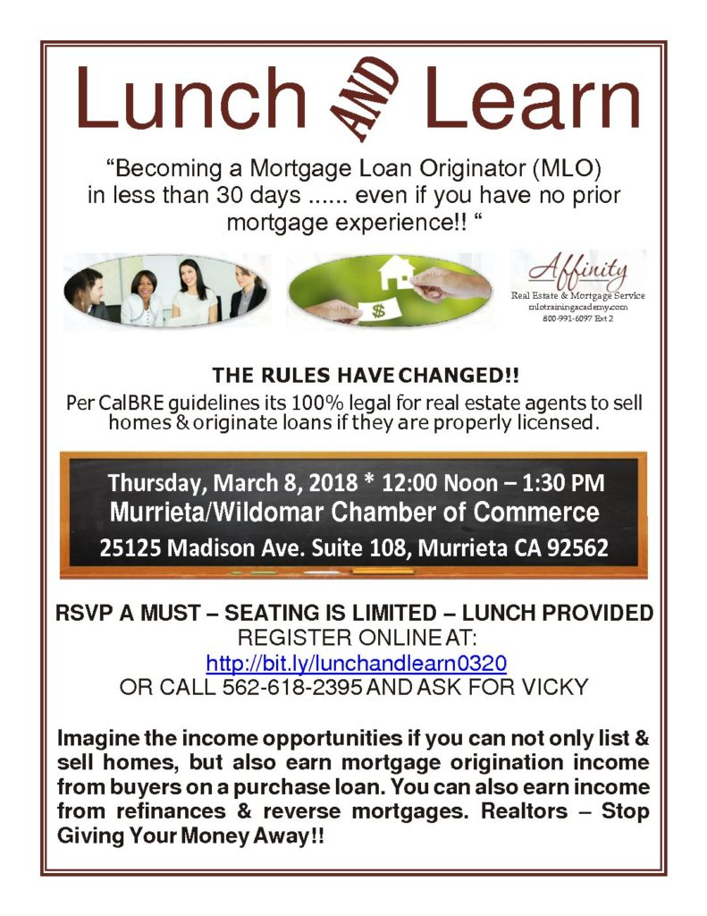 LUNCH AND LEARN_March 13, 2018 (Bellflower, CA ...