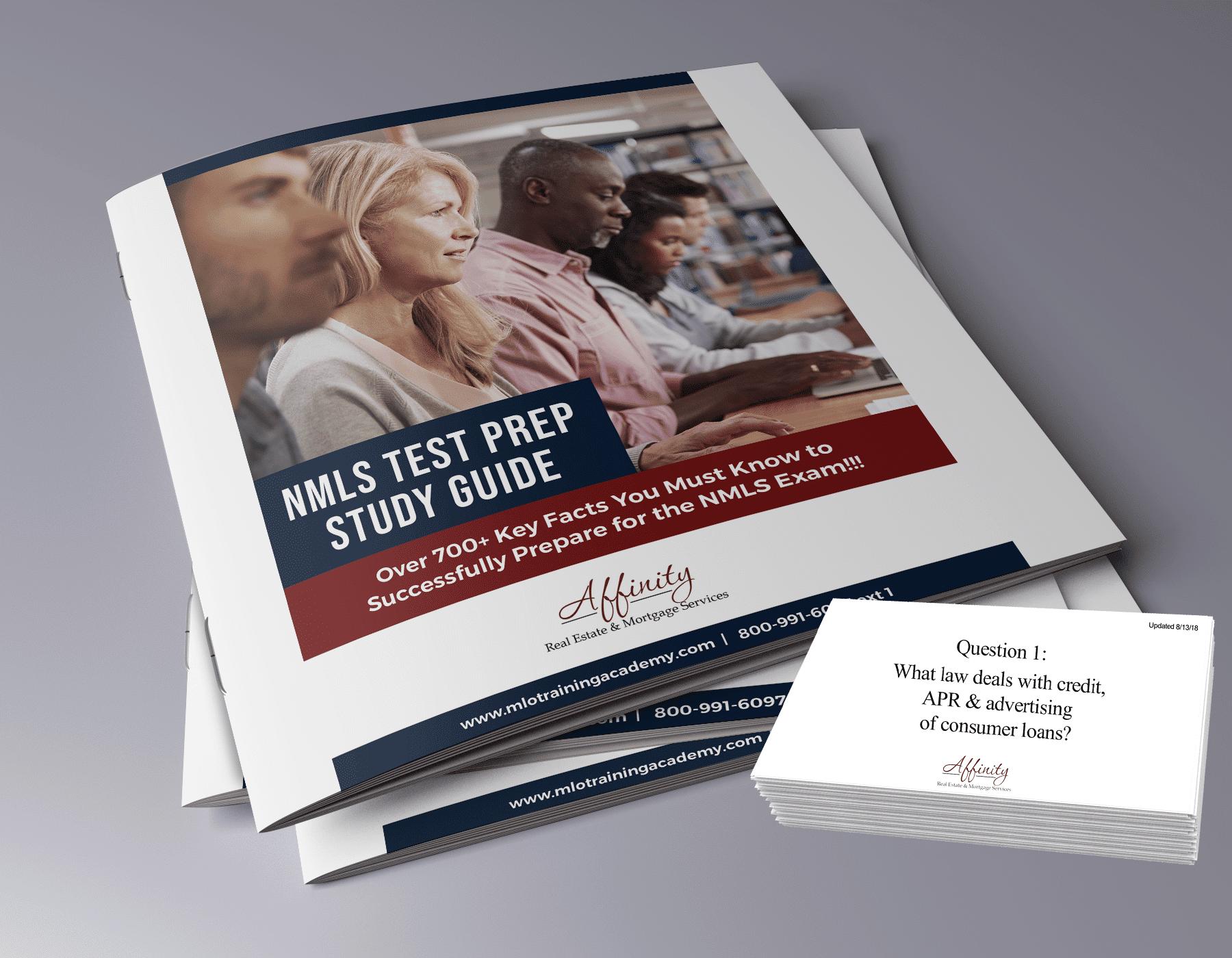 SAFE Loan Originator Flashcards & Study Guide Workbook