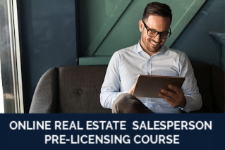 ONLINE REAL ESTATE SALESPERSON PRE-LICENSING COURSE