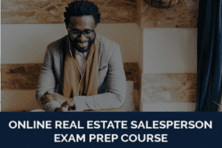 Online Salesperson Exam Prep Real Estate