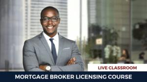 Mortgage Broker License Course Live in Person