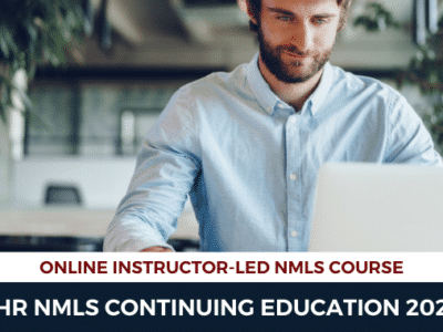 8 hour Continuing Education NMLS